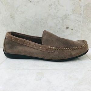 FRYE {11} Driving Loafer Moccasin Brown Venetian
